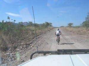 Slogging out the kms - this is what it is all about