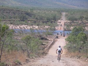 Downhill to the Pentecost River